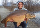 10,2kg le 16 mars à 10 minutes de replier. facebook : Team Dream Fishing